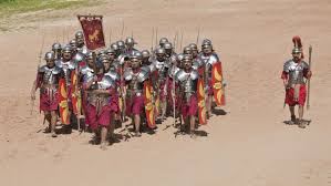 how was the roman army organized reference com