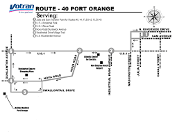 New Smyrna Beach Map Route Details