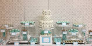 Black Blue And Silver Table Settings Tiffanys Inspired Tiffany Blue White And Silver Wedding Dessert
