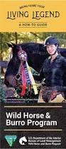 Us Department Of The Interior Bureau Of Land Management Programs Wild Horse And Burro Adoption And Sales Bureau Of