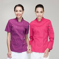 veste cuisine couleur couleur chef manteaux femme unique chefwear cuisine chefs