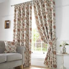 Terracotta Blackout Curtains Hereford Lined Curtains In Terracotta Uk Delivery Terrys Fabrics