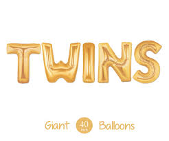 giant twins balloons 40 inch mylar balloons in