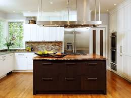 kitchen cool white and brown contemporary kitchen ideas with