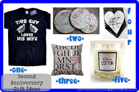 cotton anniversary gifts for him beautiful second wedding anniversary ideas pictures styles ideas