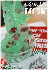 holiday slimes for kid u0027s christmas science activities