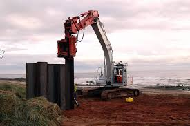 Steel Sheet Piling Cost Estimate by Spi Steel Pile Installations Ltd Steel Piling Uk Permanent