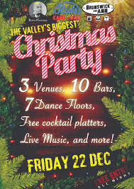 the valley u0027s biggest christmas party u2014 ric u0027s cafe bar