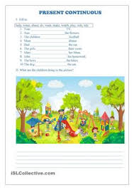 present continuous worksheet free esl printable worksheets made