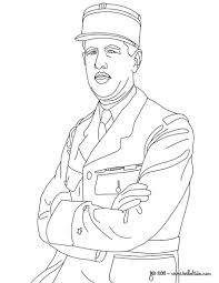 president charles de gaulle coloring pages hellokids com