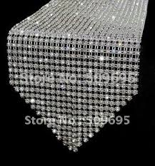 home decor table runner 72 bling crystal home decoration table runner beautiful wedding