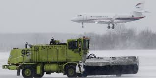 snowstorms in midwest northeast making air travel a challenge
