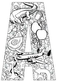 coloring pages for letter c letter printable coloring pages printable letter coloring pages