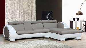 canapé angle cuir gris canapé convertible cuir gris tout savoir sur la maison omote