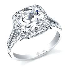 best diamond cushion cut engagement rings suzannawinter com