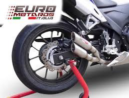 Honda 2013 Cbr500r Honda Cbr 500r 2013 15 Gpr Exhaust Slip On Silencer Thunder Slash