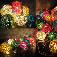 Patio String Lights Ideas by Patio Ball Lights Decor Color Ideas Fantastical With Patio Ball