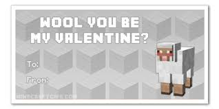 minecraft valentines cards pig gif find on giphy