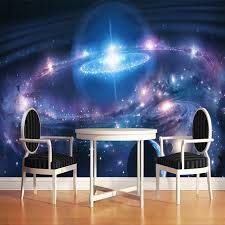 galaxy wall mural modern minimalist starry sky cosmic galaxy 3d wall mural wallpaper