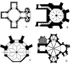 Floor Plan Of A Church by 3 3 1 4 The Octagonal Church Plan Quadralectic Architecture