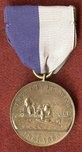 us civil war naval service medal 1861 1865 calvin s service