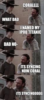 Walking Dead Meme Rick Crying - rick and carl long meme imgflip