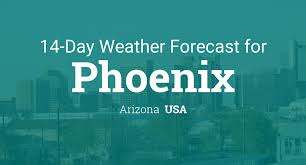 Show Me The Weather Map Phoenix Arizona Usa 14 Day Weather Forecast