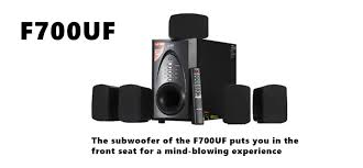 best rated home theater systems f u0026d f700uf 5 1 multimedia speaker review specs and price