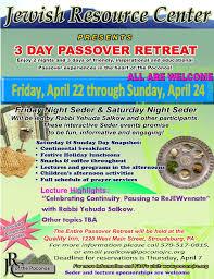 passover programs resource center of the poconos