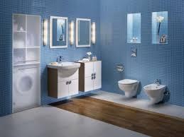 blue and silver bathroom ideas