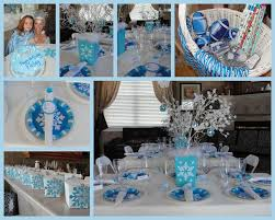 Winter Party Decorations - winter wonderland snowflake decorations party u2014 all home ideas and
