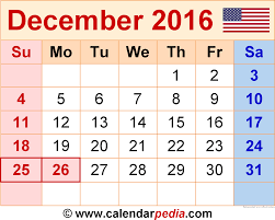 december 2016 calendar with holidays uk monthly calendar printable