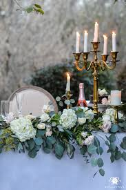 Sweet Heart Table Romantic Outdoor Sweetheart Table Kelley Nan