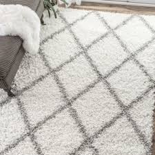 Gray And White Area Rug White And Grey Area Rug Visionexchange Co