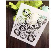 daisy stencil template ecordura com