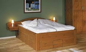 lit bois chambre 罌 coucher