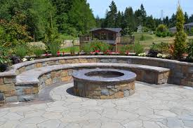 Brick Firepits Backyard Pit Plans Brick Patio Designs With Pit