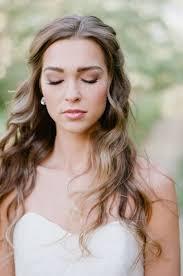 bridal hair for oval faces natural bridal makeup tips natural bridal makeup loose waves