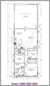 barndominium floor plans custom barndominium floor plans and stock pole barn homes momchuri