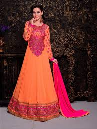 wedding dress qatar buy wedding wear anarkali frocks online qatar orange kalidar suit