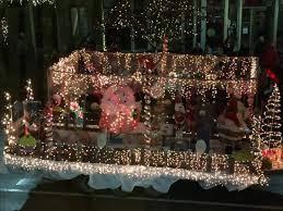 christmas light parade floats nawal s won first place for lighted christmas parade float picture