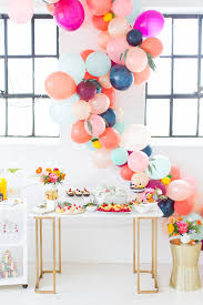 How To Make Sweet Decorations How To Make A Balloon Arch U0026 Reader Photos Arch Bridal