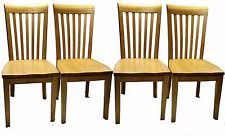 Mission Oak Dining Chairs Mission Style Dining Chairs Ebay