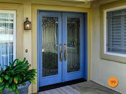 30 Exterior Door With Window Front Doors 30 In X 80 In Fan Lite Unfinished Fir Front Door