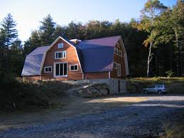 exterior design captivating gambrel roof for home exterior design pretty home exterior design with gambrel roof plus blue roof and glass windows
