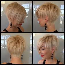 short hairstyles longer in front shorter in back short blonde hairstyle undercut hairstyles pinterest blonde