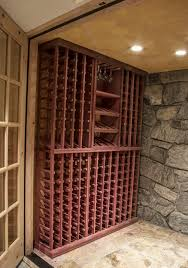 tips u0026 tricks for wine cellars finishes stains and species oh