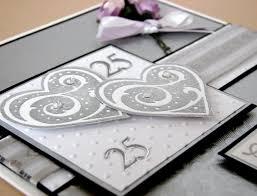 25 Wedding Anniversary Invitation Cards 25th Silver Wedding Anniversary Invitations 25th Wedding