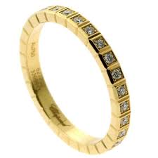 gold eternity ring chopard cube diamond gold eternity ring for sale at 1stdibs