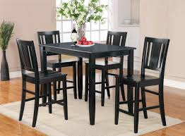 small black wood kitchen table and chairs cheap kitchen table